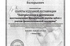 Сертификат 36